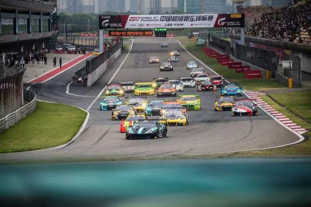 China GT第四站决赛鏖战上海滩